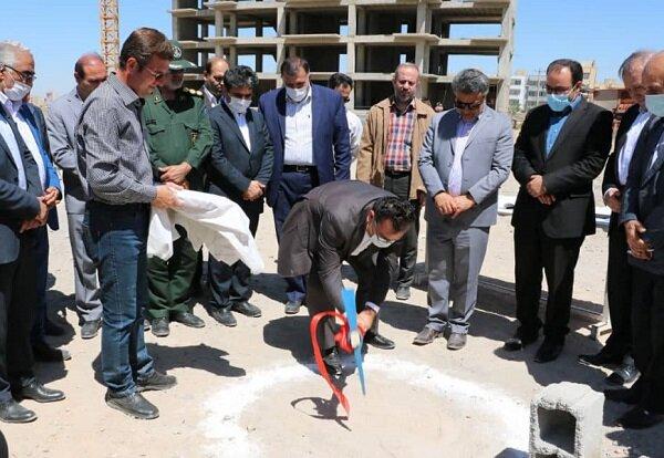کلنگ زنی پروژه ۳۹۰ واحدی طرح اقدام ملی مسکن در شهر جدید سهند