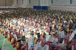 توزیع ۱۵۰۰ بسته معیشتی در گناباد
