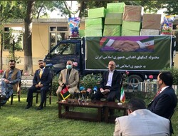 Afghanistan receives Iranian anti-coronavirus medical aid cargo