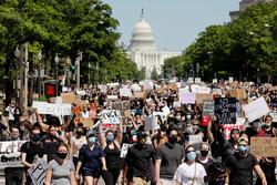 امریکی حکومت کے خلاف پر تشدد مظاہروں کا سلسلہ جاری