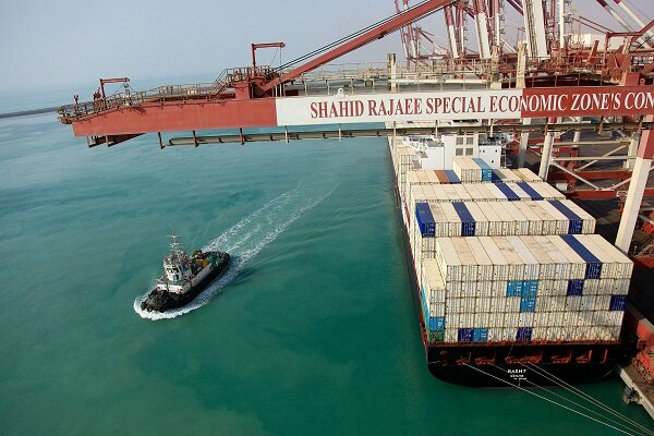 Over 2mn tons of non-oil goods exported from Shahid Rajaee Port in two months
