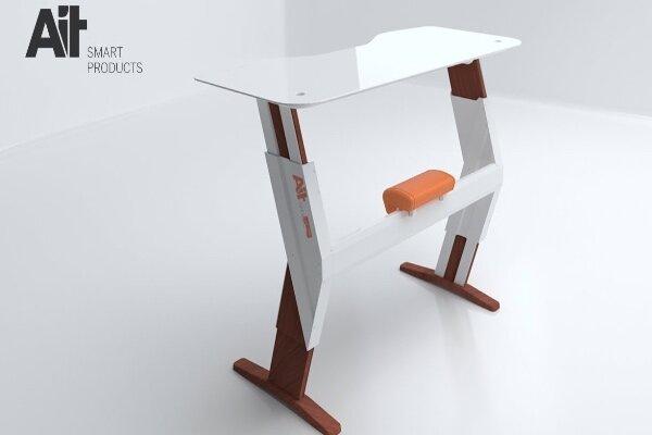 میز تحریر هوشمند با حسگر سنجش کیفیت هوا