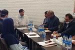 نشست حسن رنگرز با مسئولان فدراسیون وزنه برداری برگزار شد