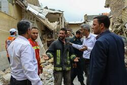 قم میں ایک عمارت میں دھماکے سے 2 افراد جاں بحق