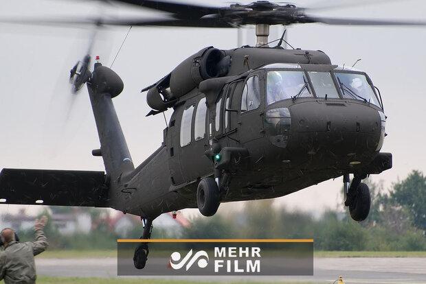 هلیکوپتر بلک هاوک برای سرکوب مردم آمریکا وارد شد