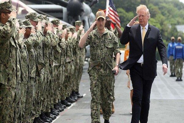 صدر ٹرمپ کا واشنگٹن میں بڑی تعداد میں مسلح افواج تعینات کرنے کا اعلان