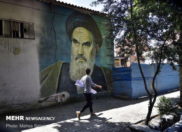 حب الإمام الخميني(رض) مغروس في القلوب