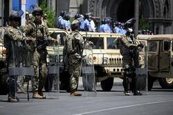 امریکی صدر کی امریکی عوام کے خلاف فوجی کارروائی کی دھمکی
