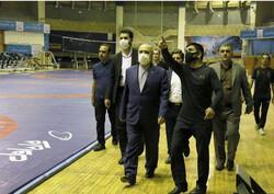 جلسه رئیس فدراسیون کشتی با وزیر ورزش