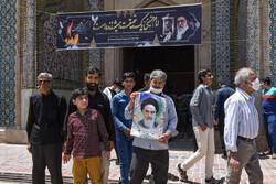 شیراز میں حضرت امام خمینی (رہ) کی برسی کی تقریب منعقد