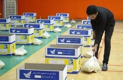 ۳۰۰ بسته معیشتی در شش منطقه رشت توزیع شد