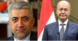 Iranian energy min. meets with Iraqi president for bilateral talks