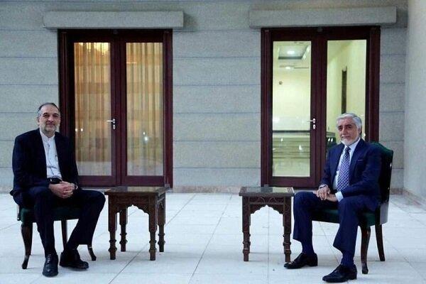 Iran, Afghanistan discuss Afghan peace process, bilateral ties