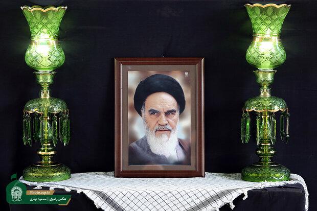 مراسم گرامیداشت سالگرد ارتحال امام خمینی(ره)در خرمآباد برگزار شد