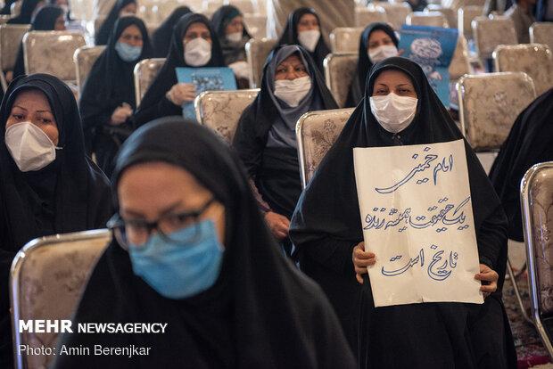 مراسم بزرگداشت امام خمینی(ره) در مسجد وکیل شیراز