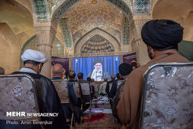Commemoration ceremony of 31st demise anniversary of Imam Khomeini in Vakil Mosque…