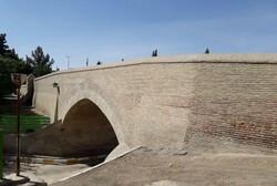 پل تاریخی ۱۵ خرداد گلباران شد