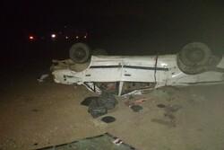 تصادف در جاده های زنجان ۲ کشته و پنج مصدوم جای گذاشت