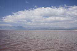 حال خوب دریاچه ارومیه با بارش های اخیر