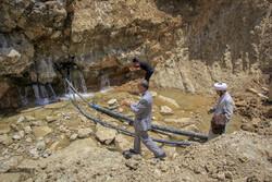 بازفت کے قبائلی علاقہ میں پانی پہنچانے کے پروجیکٹ کا آغاز