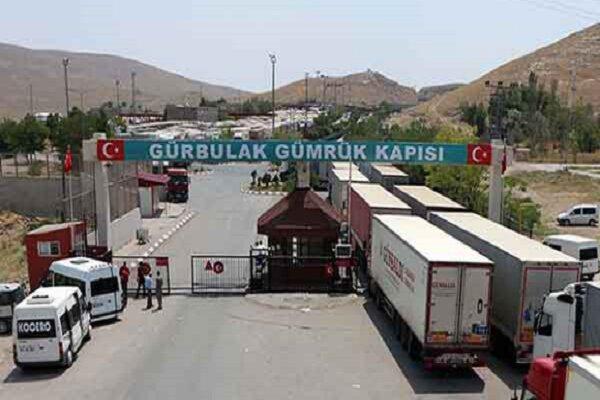 """عودة النشاط التجاری الی معبر """"بازرکان"""" الحدودی مع ترکیا"""