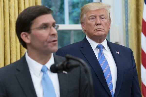 امریکی وزارت دفاع نے صدر ٹرمپ کا ایک اور حکم بھی مسترد کردیا