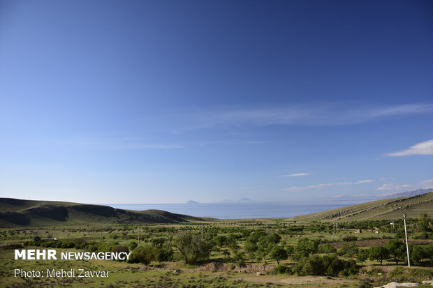 Lake Urmia after heavy rains
