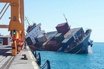 Iranian ship sinks off Iraqi coast