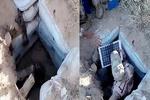 چند مخفیگاه زیرزمینی داعش در عراق منهدم شد