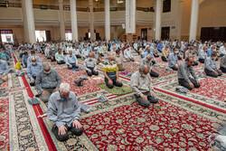شیراز میں 100 دنوں کے بعد نماز جمعہ کی ادائیگی
