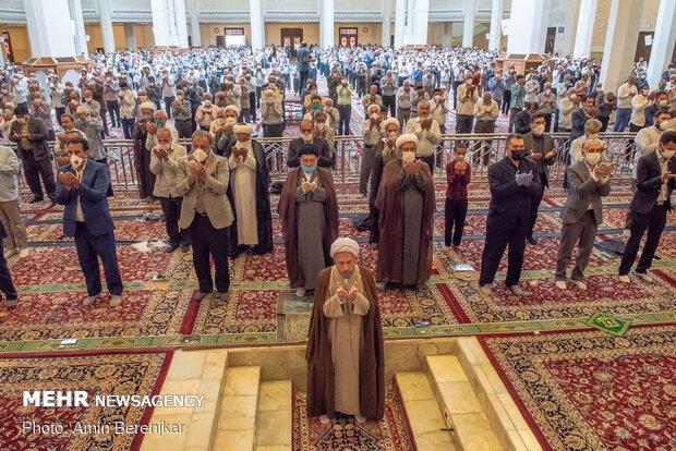 برگزاری نمازجمعه در شیراز بعد از 100 روز