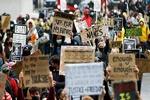 برگزاری تظاهرات ضد نژادپرستی در لندن