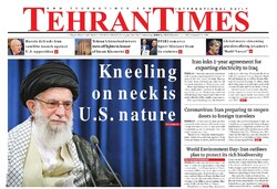 Front pages of Iran's English-language dailies on June 06