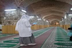 نخستین مسافر خارجی در مسجد جامع ارومیه حضور یافت