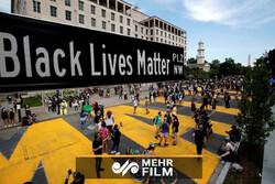 امریکہ میں  احتجاجی مظاہروں کا سلسلہ جاری