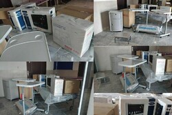 اهدای ۱۷۰ میلیون تومان تجهیزات پزشکی به شهرستان هلیلان