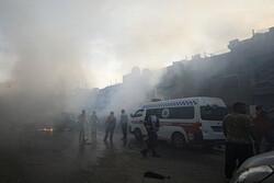 إنفجار سيارة مفخخة شمالي سوريا ووقوع جرحى