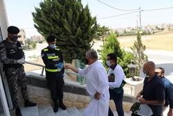 اردن میں قرنطینہ کے بعد پہلی نماز جمعہ ادا کی گئی