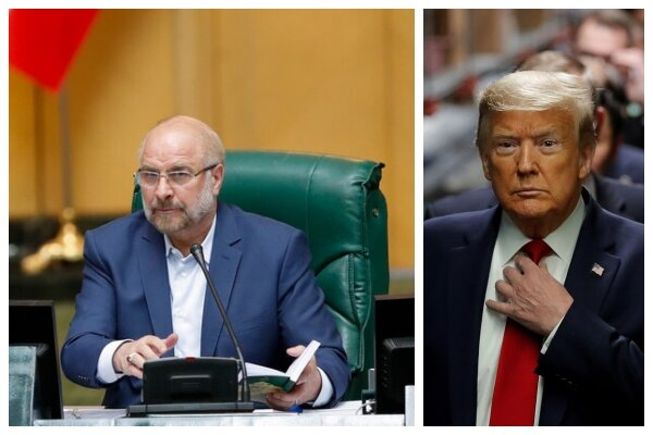Parl. speaker responds to Trump's talks offer with a verse from holy Quran