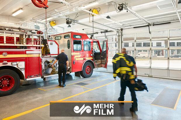 آتش سوزی گسترده در یکی از بزرگترین شرکت های آمریکا