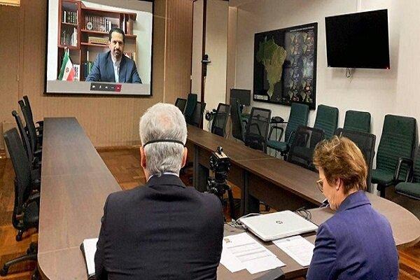 Iran, Brazil seek long-term economic ties: ambs.