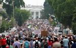 Huge protests against racism sweep US