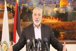 «اسماعیل هنیه» خواستار وضع راهبرد ملی مشترک در فلسطین شد