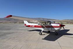 استقرار هواپیمای پایش جنگلها و مراتع در لرستان