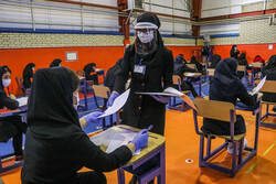 Final exams in Tabriz amid pandemic