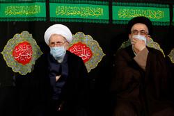 حضرت عبدالعظیم حسنی کی رحلت کے موقع پر مجلس عزا منعقد