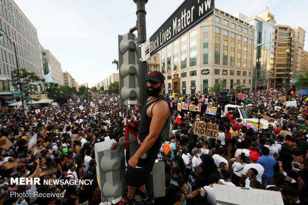 Amerika'da Protestolar Devam Ediyor