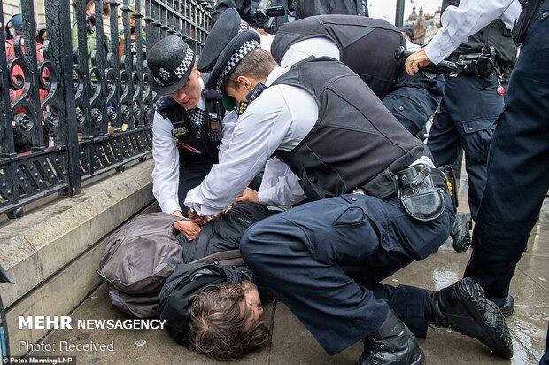 تظاهرات علیه نژادپرستی و خشونت پلیس آمریکا در کشورهای جهان