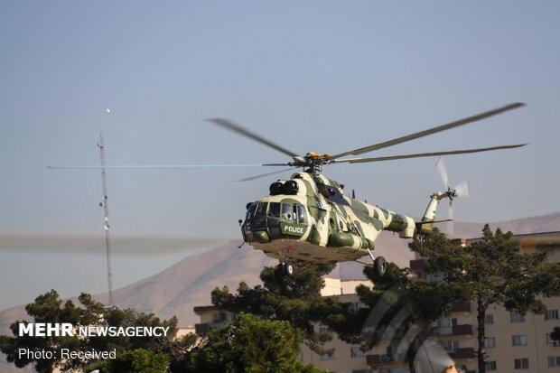 تحویلدهی ۱۰ فروند بالگرد توسط وزارت دفاع به نیروهای مسلح