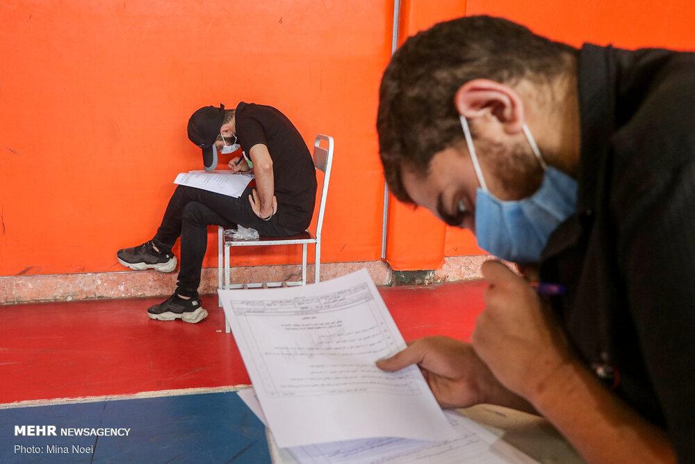 تعیین محل جداگانه برای داوطلبان مبتلا به کرونا در آزمونهای علوم پزشکی
